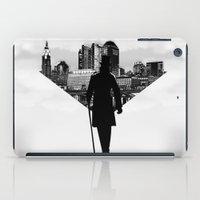 gentleman iPad Cases featuring Gentleman walk by General Design Studio