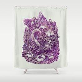 Peaceful Jungle Shower Curtain