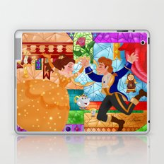 Stained glass Wallpainting Laptop & iPad Skin