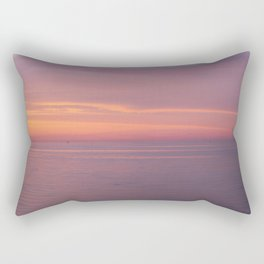 Colors of the sea at the blue hour Rectangular Pillow