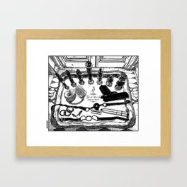 asc 572 - Weapons of class distraction Framed Art Print