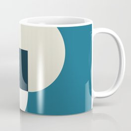 Two circles with squere Coffee Mug