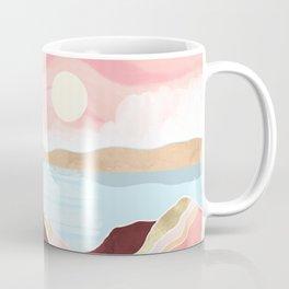 Autumn Lake Sunrise Coffee Mug