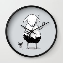 Unconventionality Wall Clock