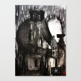 The Gift Of The Smithy Canvas Print