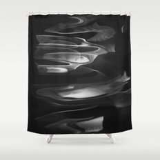 water abstract H2O #62 Shower Curtain