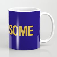 audi Mugs featuring AWDSOME v1 HQvector by Vehicle