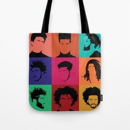 FOR COLORED BOYS COLLECTION COLLAGE Tote Bag