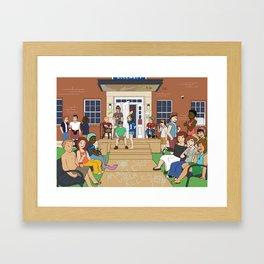 Mallet Über Alles Framed Art Print