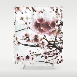 Sakura X Shower Curtain
