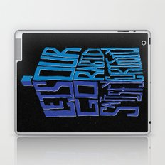 Let's Go Satisfy Our Rabid Curiosity Tardis Laptop & iPad Skin