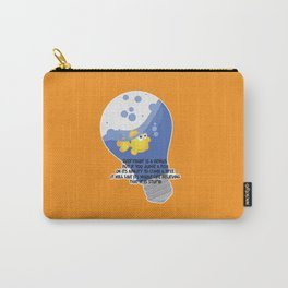 Everybody is a genius. Carry-All Pouch