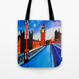 London At Night Tote Bag