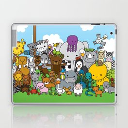 Zoe animals Laptop & iPad Skin