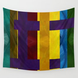 Pattern III Multi-Color Wall Tapestry