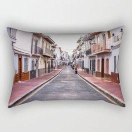 Cloudy Day, Nerja Rectangular Pillow
