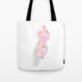 Cockatoo Down Under Tote Bag
