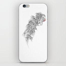Peacock II iPhone Skin