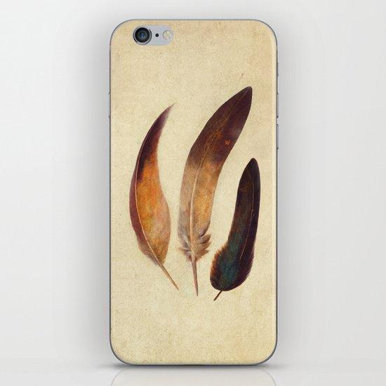 Three Feathers  iPhone & iPod Skin