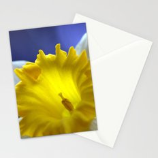 Daffodil in blue 9854 Stationery Cards