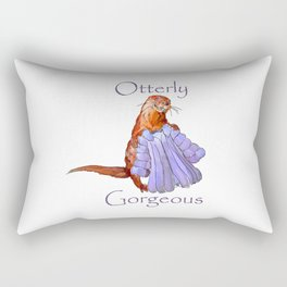 Otterly Gorgeous Rectangular Pillow