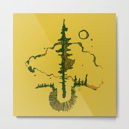 black spruce Metal Print