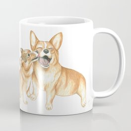 Corgi and Bess Coffee Mug