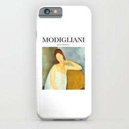 Modigliani - Jeanne Hébuterne iPhone Case