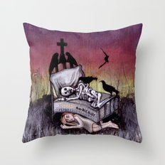 Sleeping at last Throw Pillow