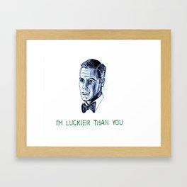 Danny Ocean Framed Art Print