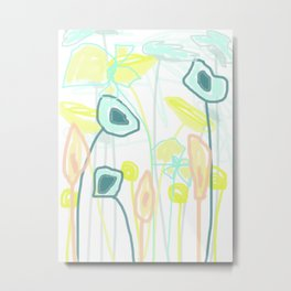 Mix of Flowers Metal Print