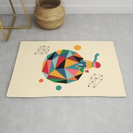 Lonely planet Rug