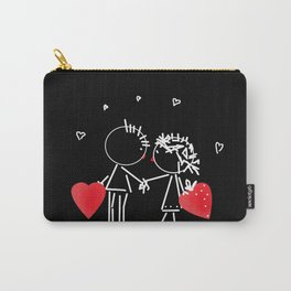 Love Valentine's Day. Wedding. Carry-All Pouch