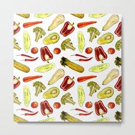 Vegetarian Metal Print