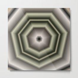 Polygon Auras in CMR 03 Metal Print