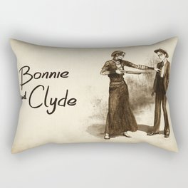 Levihan Bonnie & Clyde! AU Rectangular Pillow