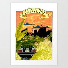 Brisvegas Art Print