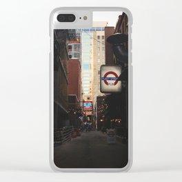 Printer's Alley Nashville Clear iPhone Case