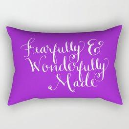 Fearfully & Wonderfully Made Rectangular Pillow