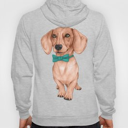 Dachshund, The Wiener Dog Hoody