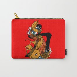 Koi Strength Carry-All Pouch