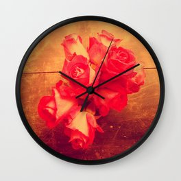 they call me the wild rose Wall Clock