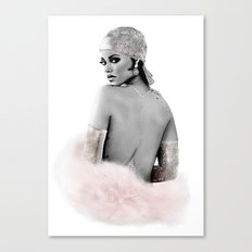 Fashion Illustration - Rihanna Canvas Print