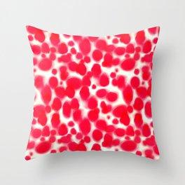 Platelets Throw Pillow