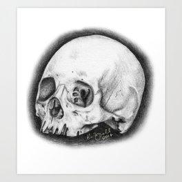 Tiny Skull Art Print