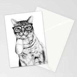 Mac Cat Stationery Cards