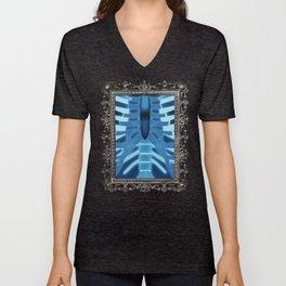 Xray Shirt Print Unisex V-Neck