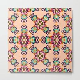 Ethnic Curlsley patterns-2 Metal Print