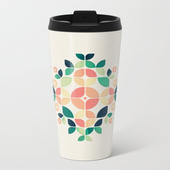 The Bouquet Metal Travel Mug