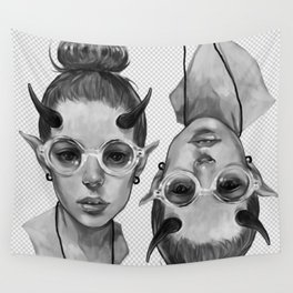 Monster Girl #3a Wall Tapestry